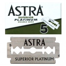Skutimosi peiliukai Superior Platinum 5 vnt.
