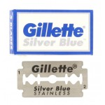 Skutimosi peiliukai Silver Blue 5 vnt.
