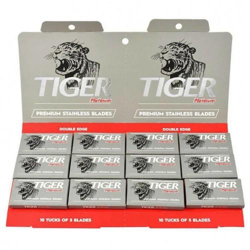 Tiger Skutimosi peiliukai Platinum 5 vnt.