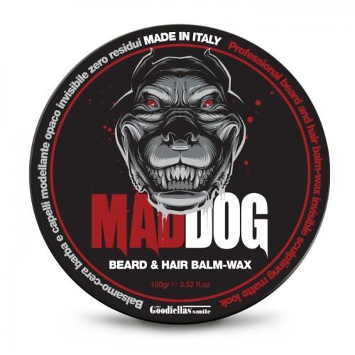 Mad Dog Barzdos ir plaukų vaškas 100g