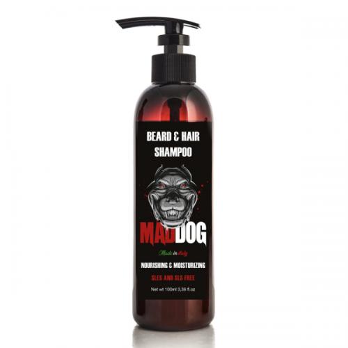 Mad Dog Barzdos ir plaukų šampūnas 100ml