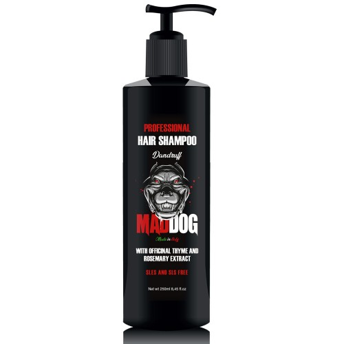 Mad Dog Šampūnas vyrams nuo pleiskanų Dandruff 250ml