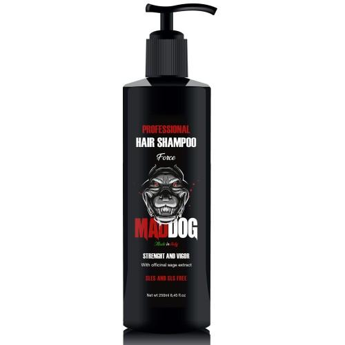 Mad Dog Šampūnas vyrams stiprinantis Force 250ml