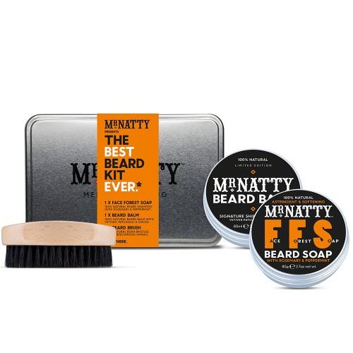 Mr Natty Barzdos priežiūros rinkinys Best Beard Kit Ever