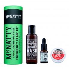 Barzdos priežiūros ir dušo rinkinys Emergency Flair
