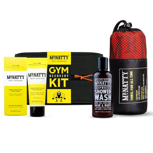 Mr Natty Dušo rinkinys Gym Recovery Kit
