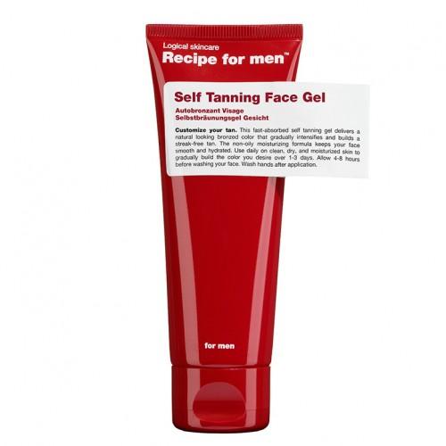 Recipe for Men Tonuojantis veido gelis Self Tanning 75ml